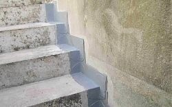 56379 Singhofen - Abdichtung einer Treppe gegen drückendes Wasser